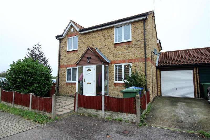 4 Bedrooms Link Detached House for sale in Danbury Crescent, South Ockendon