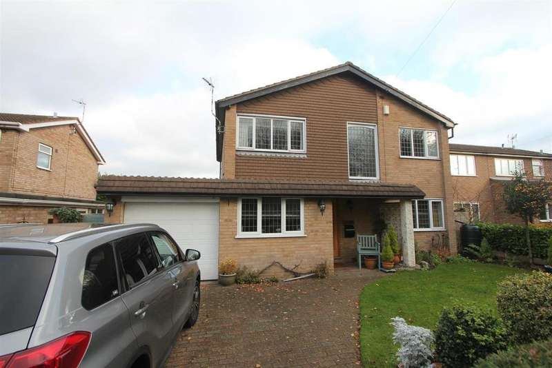 4 Bedrooms Detached House for sale in Rugby Road, Burbage, Hinckley