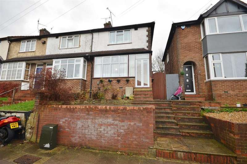2 Bedrooms End Of Terrace House for sale in Pomfret Avenue, Luton