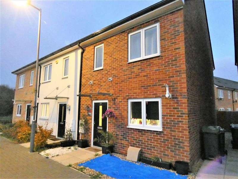3 Bedrooms Terraced House for sale in Hedges Way, Luton