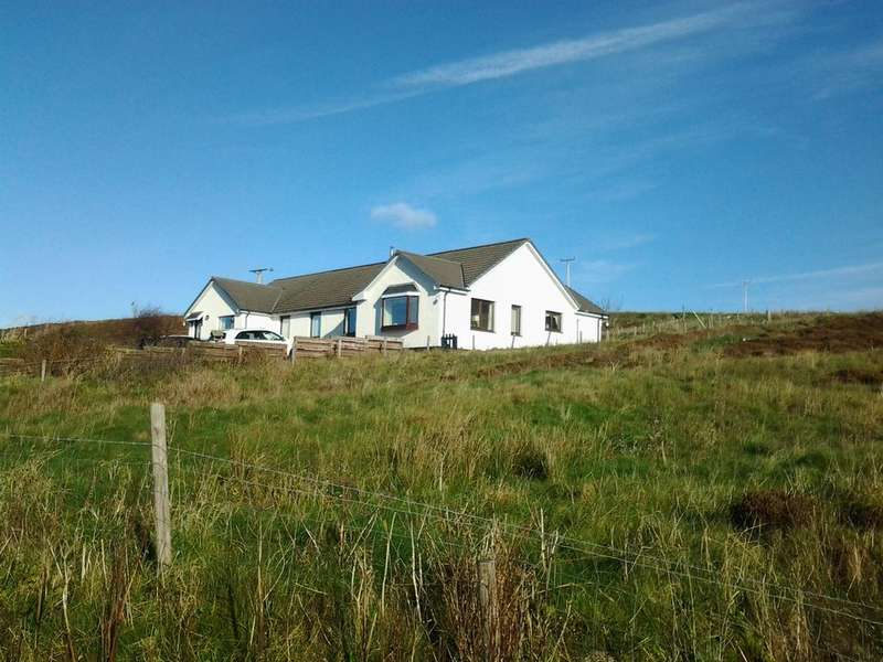 4 Bedrooms Detached Bungalow for sale in Dunhallin, Waternish, Isle of Skye IV55