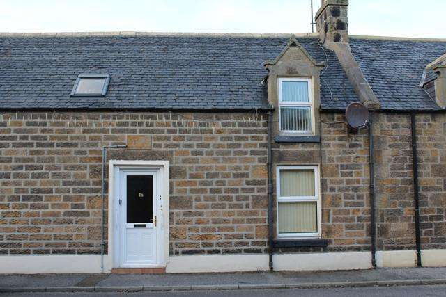 2 Bedrooms Terraced House for sale in 6 Richmond Place, Portgordon, Buckie AB56 5QX