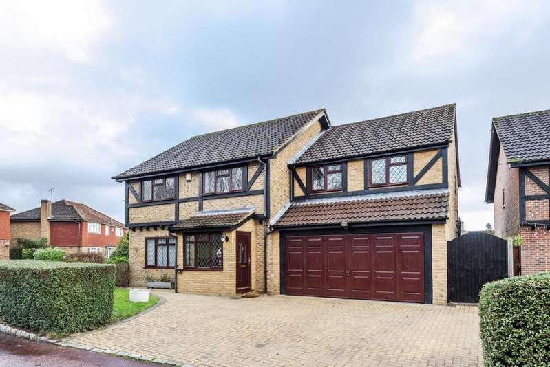 5 Bedrooms Detached House for sale in Cornwall Close, Wokingham, RG41