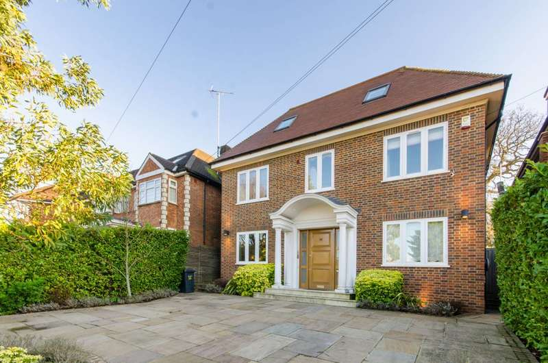 6 Bedrooms Detached House for sale in Parklands Drive, Finchley, N3