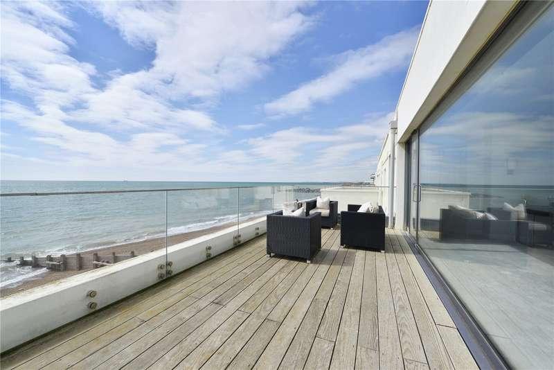 4 Bedrooms Terraced House for sale in Western Esplanade, Portslade, Brighton, East Sussex, BN41