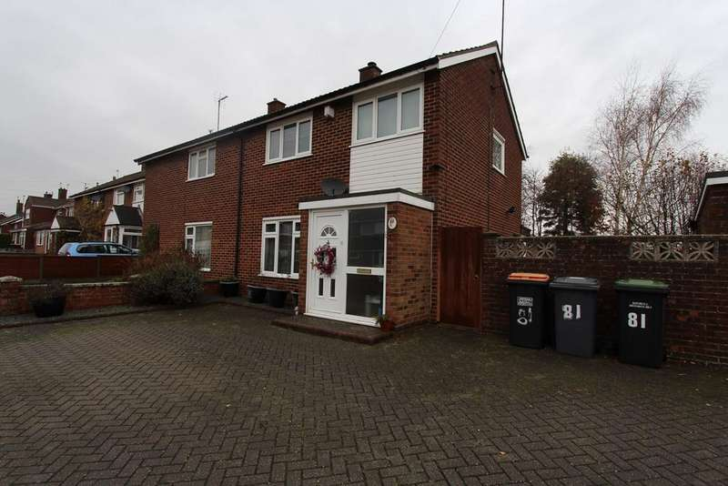3 Bedrooms Semi Detached House for sale in Knights Avenue, Clapham, Bedford, MK41