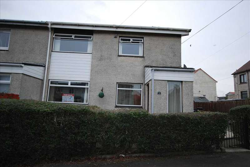 3 Bedrooms End Of Terrace House for sale in Lochranza Place, Saltcoats