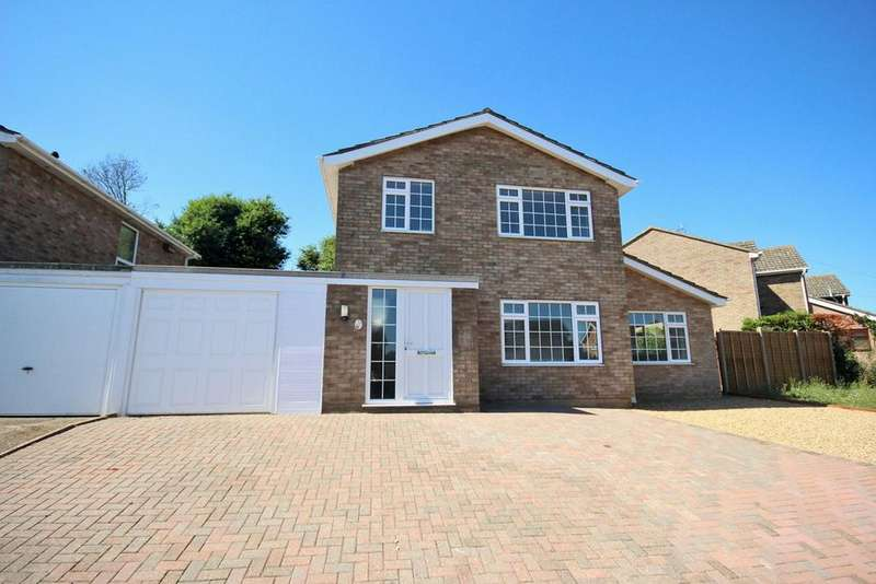 4 Bedrooms Detached House for sale in Upland Drive, Colchester, CO4