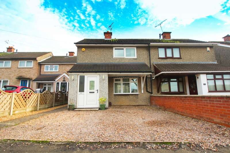 2 Bedrooms Semi Detached House for sale in Flamborough Road, Leicester, LE5