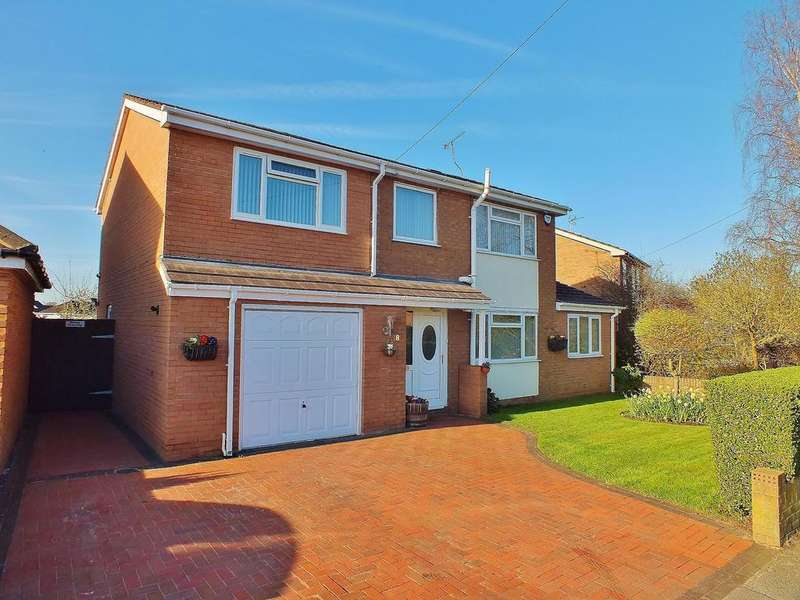 4 Bedrooms Detached House for sale in Sandown Road, Bangor On Dee