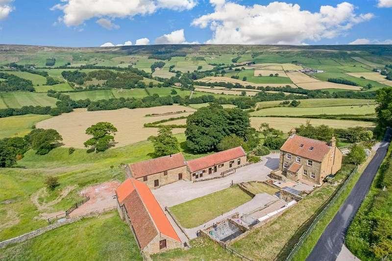 5 Bedrooms Farm House Character Property for sale in Farndale, Kirkbymoorside