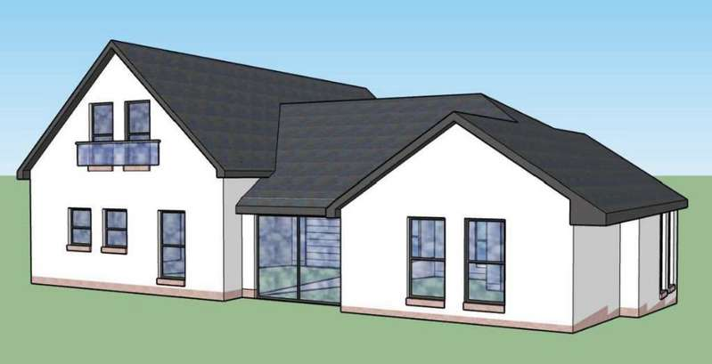 4 Bedrooms Detached House for sale in Upper Colquhoun Street, Plot 2, Helensburgh, Argyll Bute, G84 9AJ