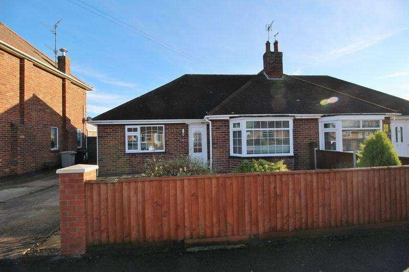 2 Bedrooms Semi Detached Bungalow for sale in Lyndhurst Avenue, Skegness