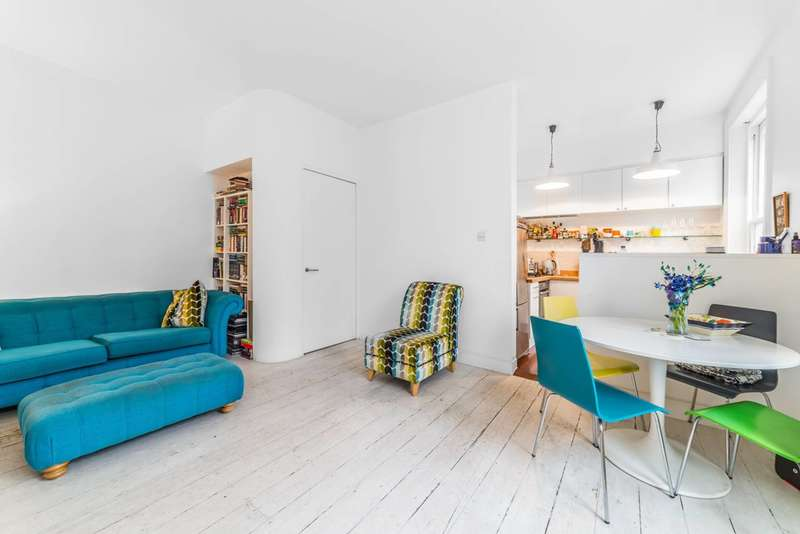 2 Bedrooms Flat for sale in Caversham Road, Kentish Town, NW5