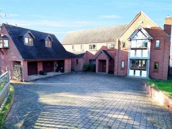 4 Bedrooms Detached House for sale in Berrington Green, Tenbury Wells, Worcestershire, WR15 8TQ