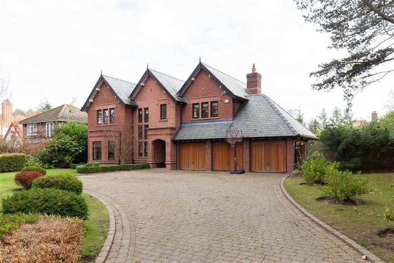 5 Bedrooms Detached House for sale in Wilmslow Park South, Wilmslow, Wilmslow