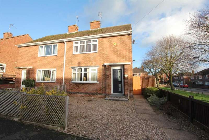 2 Bedrooms Semi Detached House for sale in Avenue South, Earl Shilton