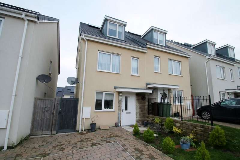 4 Bedrooms Semi Detached House for sale in Woodville Road, Plymouth