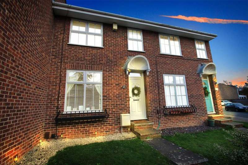 3 Bedrooms Terraced House for sale in Tanners Crescent, Hertford