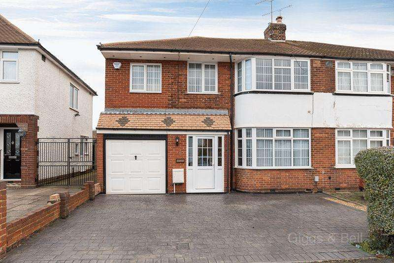 4 Bedrooms Semi Detached House for sale in Hollybush Road, Luton