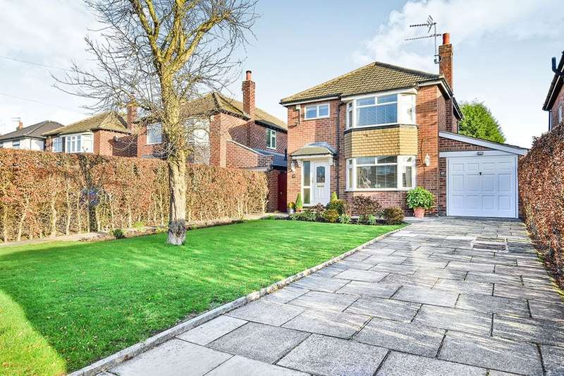3 Bedrooms Detached House for sale in Buckingham Road, Wilmslow, SK9