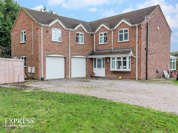 5 Bedrooms Detached House for sale in Levers Close, Fishtoft, Boston, Lincolnshire