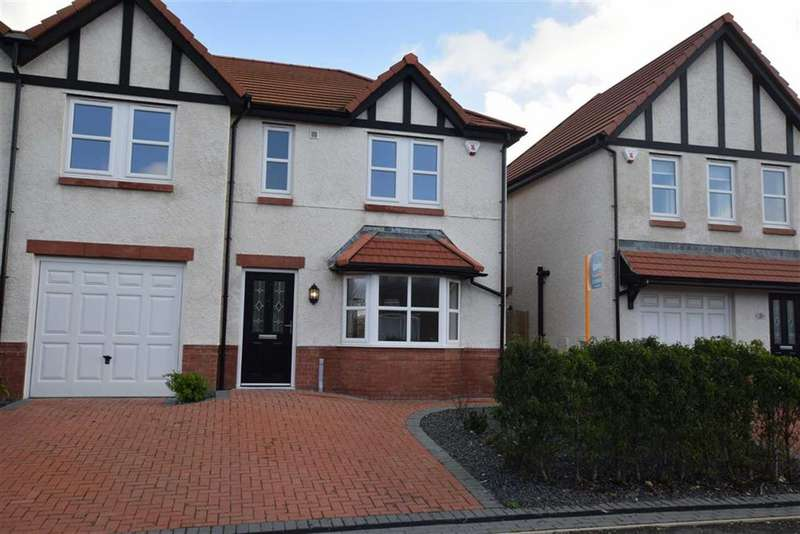 4 Bedrooms Semi Detached House for sale in Kingsdown Mews, Barrow In Furness, Cumbria