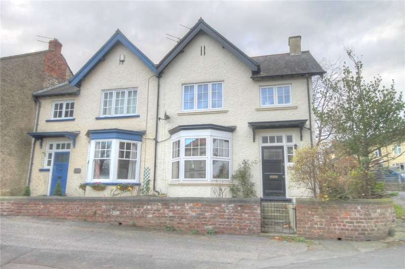 3 Bedrooms Semi Detached House for sale in The Green, Aycliffe Village, County Durham, DL5