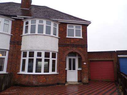 3 Bedrooms Semi Detached House for sale in Danehurst Avenue, Western Park, Leicester, Leicestershire