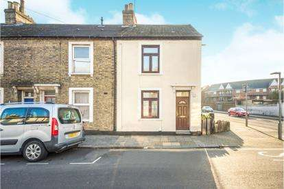 3 Bedrooms End Of Terrace House for sale in Commercial Road, Bedford, Bedfordshire