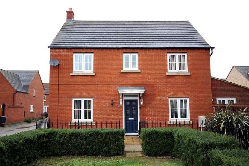 4 Bedrooms Detached House for sale in Pollards Way, Lower Stondon, SG16