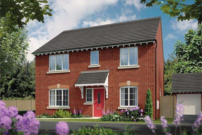 4 Bedrooms Detached House for sale in Plot 159, The Magnolia, Oteley Road, Shrewsbury, SY2 6QS
