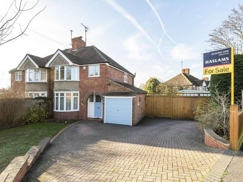 3 Bedrooms Semi Detached House for sale in Whitegates Lane, Earley, Reading, RG6