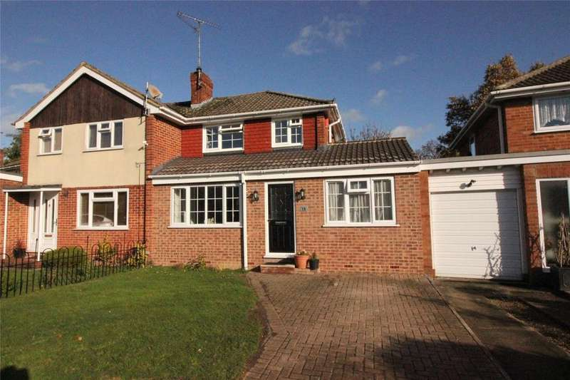 4 Bedrooms Semi Detached House for sale in Dartington Avenue, Woodley, Reading, Berkshire, RG5