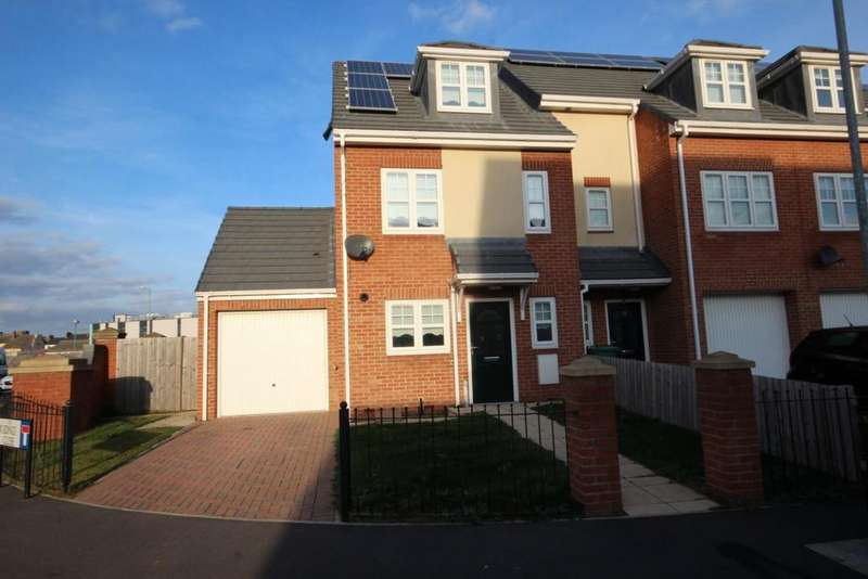 3 Bedrooms End Of Terrace House for sale in Sidings Close, Hartlepool