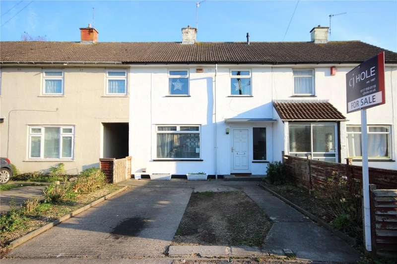 2 Bedrooms Terraced House for sale in Peverell Drive, Henbury, Bristol, BS10