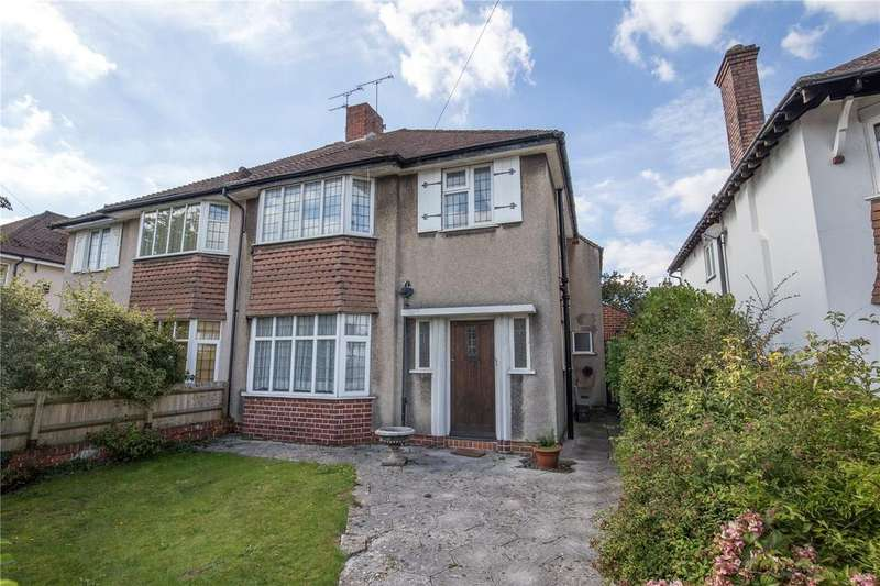 3 Bedrooms Semi Detached House for sale in Northumbria Drive, Henleaze, Bristol, BS9