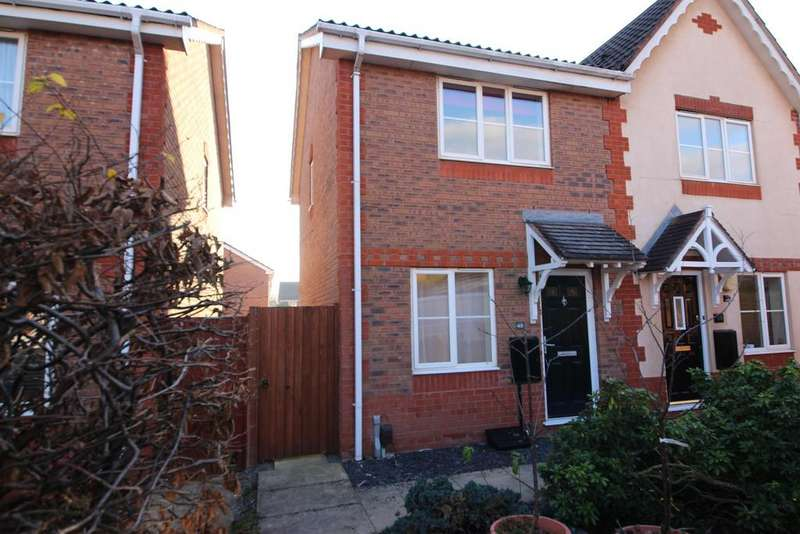 2 Bedrooms Semi Detached House for sale in Westons Brake, Emersons Green, Bristol, BS16 7BP