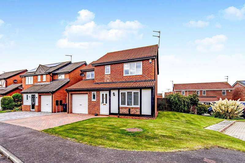 4 Bedrooms Detached House for sale in Langdale Way, East Boldon, NE36