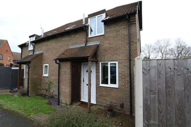 1 Bedroom Terraced House for sale in Cannock Way, Lower Earley, Reading, Berkshire, RG6 4EF