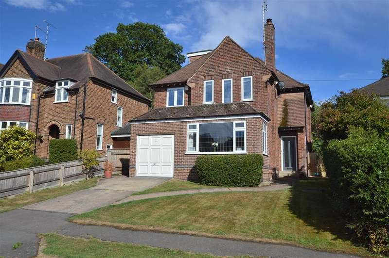 4 Bedrooms Detached House for sale in Evans Avenue, Allestree Park, Derby