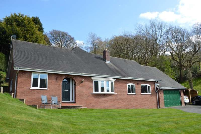 4 Bedrooms Detached Bungalow for sale in 2 Jack Harvey Drive, Church Stretton SY6