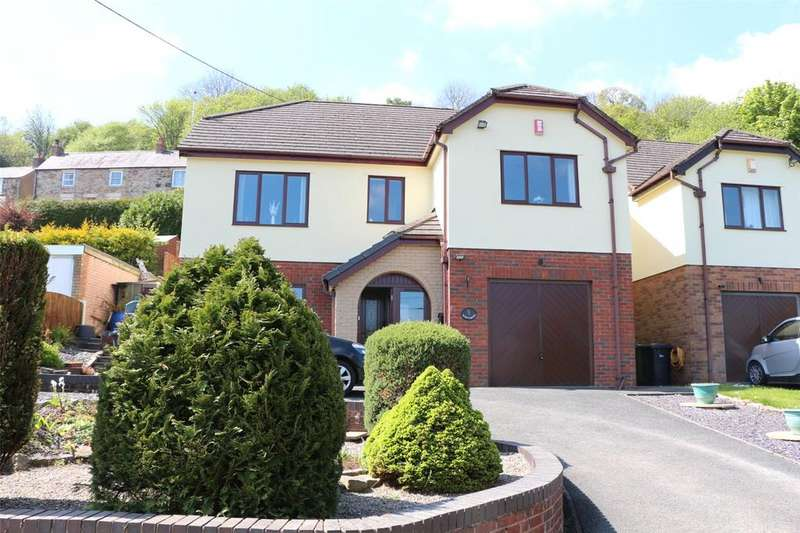 4 Bedrooms Detached House for sale in New Brighton, Minera, Wrexham, LL11
