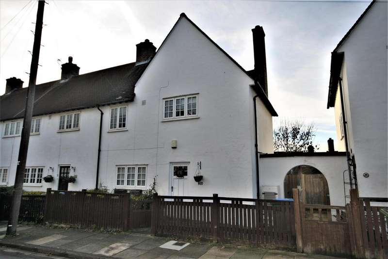 3 Bedrooms End Of Terrace House for sale in Martin Bowes Road, London, SE9 1LQ