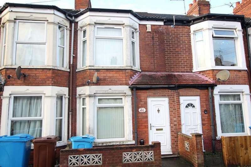 2 Bedrooms Terraced House for sale in Hereford Street, Hull, HU4