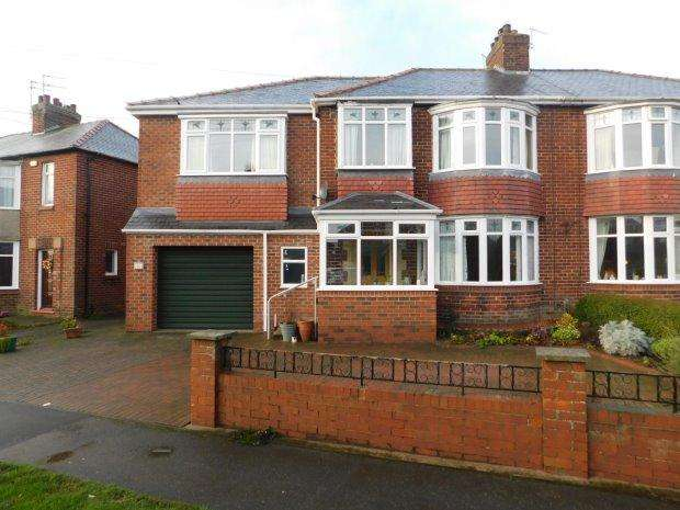 3 Bedrooms Semi Detached House for sale in DURHAM MOOR CRESCENT, DURHAM MOOR, DURHAM CITY