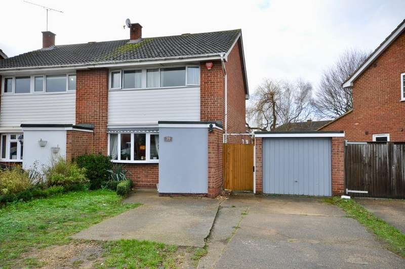 3 Bedrooms Semi Detached House for sale in Fitzroy Crescent, Woodley, Reading, RG5 4EX