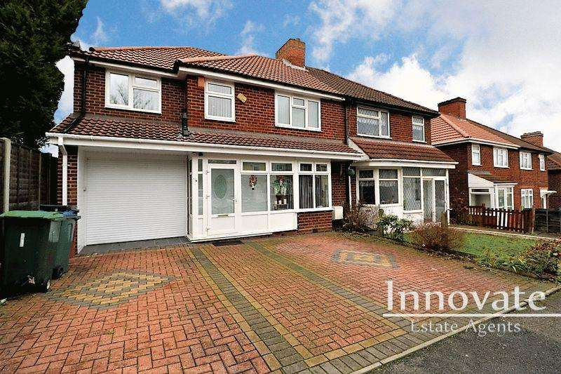 4 Bedrooms Semi Detached House for sale in Salop Road, Oldbury