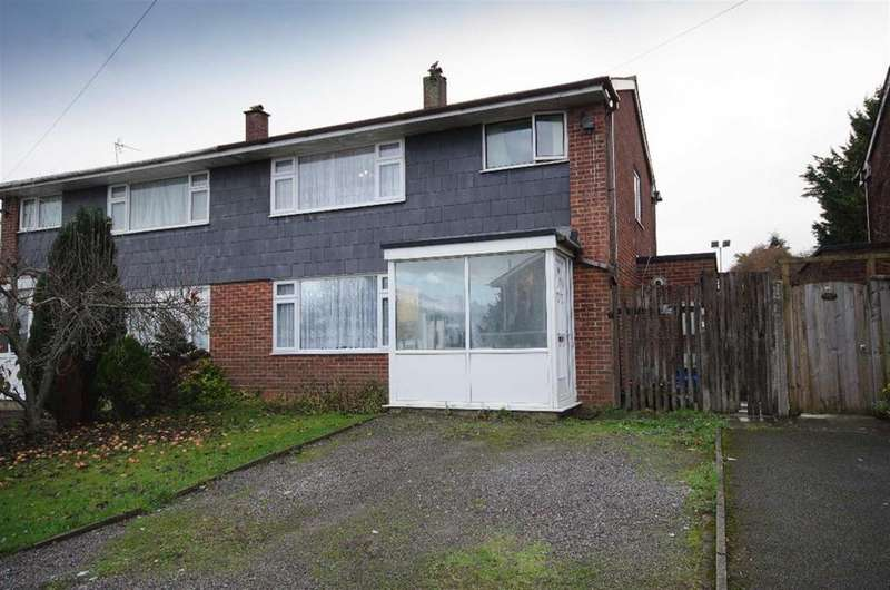 3 Bedrooms Semi Detached House for sale in St. Aldams Drive, Pucklechurch, Bristol, BS16 9QQ