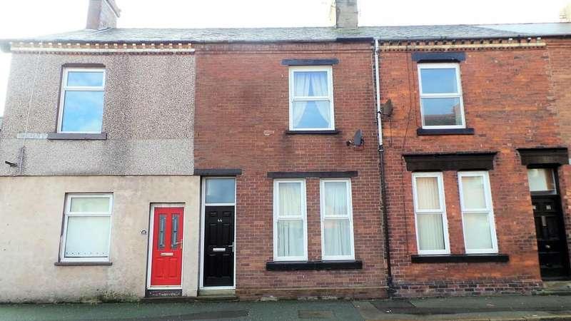 4 Bedrooms Terraced House for sale in 4 Studio flats, 44 Rawlinson Street, Barrow In Furness, Cumbria LA14 2DN